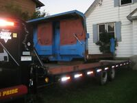 Goose-Neck Trailer For Sale