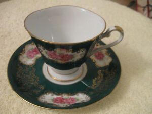 GRANDMA'S OLD VINTAGE SHAFFORD CHINA CUP and SAUCER