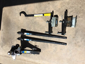 Reese - Weight Distribution bars with Sway Control, and Hitch