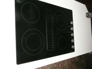 """30""""ELECTRIC DOWNDRAFT COOKTOP"""