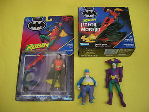 BATMAN RETURNS ROBIN JET FOIL CYCLE, ROBIN AND 2 LOOSE FIGURES London Ontario image 1