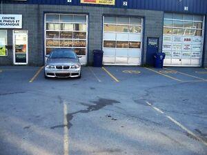 garage une ou deux portes dans cartier industiel a laval