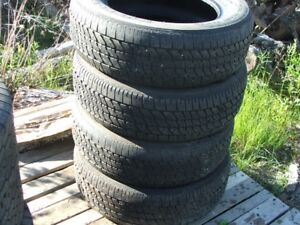 P225/60R16 used tires