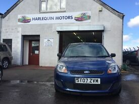 Reg. 31/07/2007 FORD FIESTA STYLE 1.2L PETROL 3 DOOR - 80K MILES - YEAR MOT - SERVICED - WARRANTY