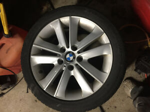 BMW 3 Series Rims and winter tires