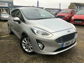 image for 2018 Ford Fiesta 1.0 EcoBoost Titanium 5dr HATCHBACK Petrol Manual