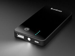 USB POWER PACK 1A FUEL GAGE POWERED BY GRADE A LITHIUM RECHARGEABLE BATTERY 3000