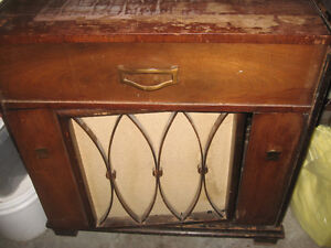 Antique Electrohome Radio and Record Player