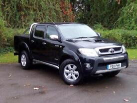 Toyota Hi-lux 3.0 D-4D Invincible Crewcab Pickup 4dr DIESEL MANUAL 2011/11