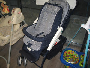 Baby buggy and stroller in one