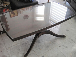 Vintage Mid Century Authentic Mersman Swivel Coffee Table