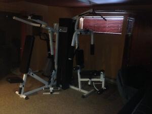 Tapis-Roulant, Velo stationnaire, Multi-Gym