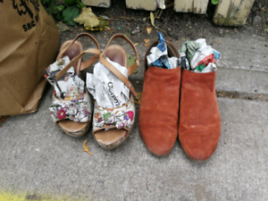 Curb Alert--Size 6 Shoes