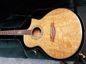 IBANEZ EW20A ACOUSTIC ELECTRIC WITH PRE AMP