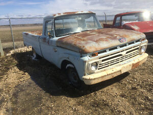 66 ford f 100 8 feet box