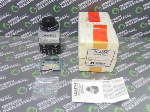 NEW Agastat 7012PC Timing Relay Module 125V 1.5-15 Seconds