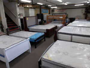 BEDS,BEDS, BEDS. Head and foot boards. Box and Mattresses.