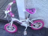 girls white bike