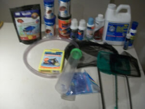 all you see in the picture you need for your fish tank water con