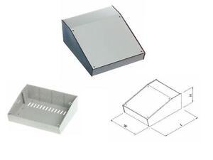 Enclosure sloped front panel ABS 170 x 130 x 55 (EN201)