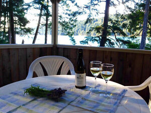 Your affordable BC waterfront lot and cabin