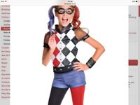 Brand new Harley Quinn age 8-10y