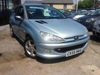 2005(55) Peugeot 206 2.0HDi 90 Sport **1 Owner, up to 64 MPG**
