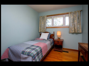 Fully furnished room. Near MSVU.  Female only.