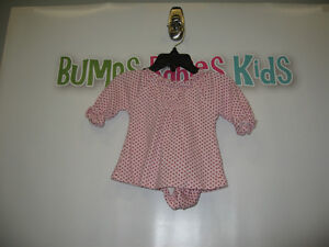 Girls 0-3 month long sleeve shirt and bottoms