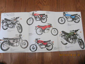 Classic Benelli Motorcycle Pamphlet Sarnia Sarnia Area image 2