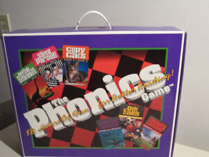 Hooked On Phonics-Complete Box Set-Mint Condition
