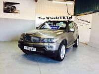 BMW X5 3.0D SPORT DIESEL AUTOMATIC, 55 PLATE, TOP SPEC, 12 MONTHS MOT & FULL SERVICE HISTORY.