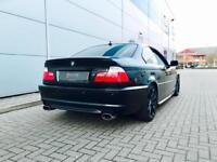2004 54 reg BMW 330 Ci M Sport Auto Coupe + Black + Black LEATHER + NICE SPEC