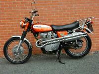 Honda CL450 1970 FABULOUS CLASSIC MOTORCYCLE FRESH DREAM MACHINE PAINTWORK
