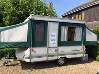 Conway Cardinal Clubman 6 Berth Folding Camper/Caravan/Trailer Tent