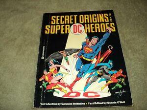 SECRET ORIGINS OF THE SUPER DC HEROES COMIC BOOK