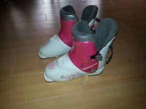 Size 1, 250mm (mondo size 20.5) Techno G40 downhill boots Prince George British Columbia image 1