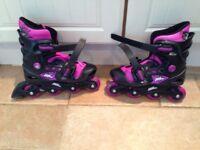 No Fear Inline Skates Size 1-4