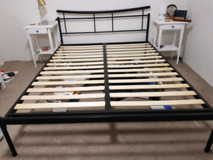 Queen Size Bed Frame $100