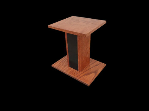 """Custom Made """" Speaker Stands SOLID OAK."""