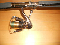 Canne moulinet Pfleuger, Haute Gamme, Fishing rod&reel