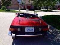 original TR 6 convertible,Low Miles,Rust free,Well Maintained