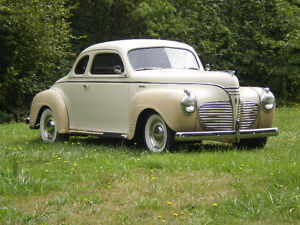 1941 Plymouth parts