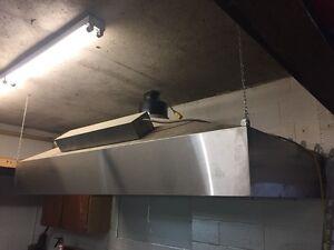 Stainless Steel Kitchen hood with lights inside Regina Regina Area image 3