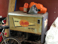 Metal Antique Pepsi Cola Cooler