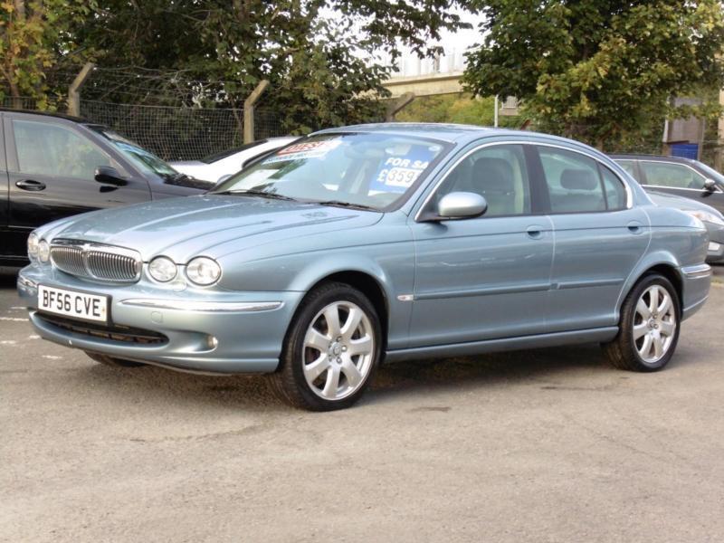 Jaguar X-TYPE 2.0D 2006 SE, Saloon, Light Blue, Sat Nav ...