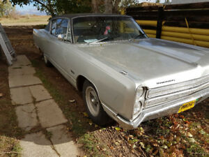 1968 Plymouth VIP 2dr. Good condition.  Beautiful interior.