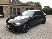 BMW M3 4D AUTO DCT 426 BHP 2014 14 PLATE LOTS OF EXTRAS,FULL BMW HISTORY
