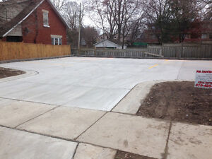 Concrete Shed pads & hot-tub pads London Ontario image 4