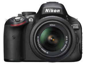 Nikon D5100 16.2MP DSLR Camera with 18-55mm Lens